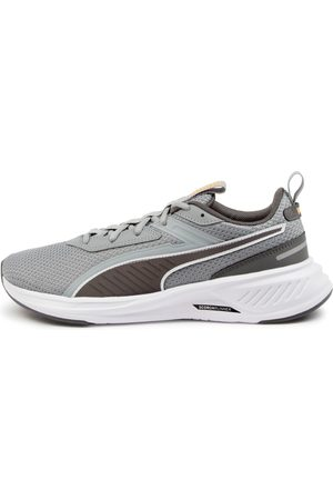 PUMA 194459 Scorch Runner M Pm Quarry Castlerock Sneakers Mens Shoes Active Active Sneakers