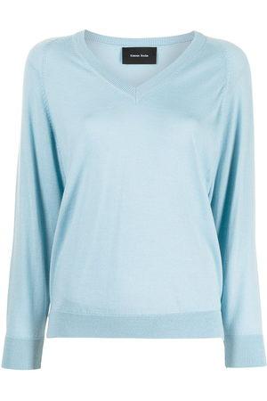 Simone Rocha Knitted long-sleeve jumper