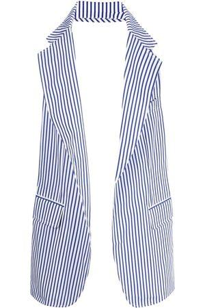 Comme des Garçons Striped blazer-vest