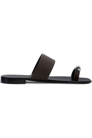 Giuseppe Zanotti Metal toe strap sandals