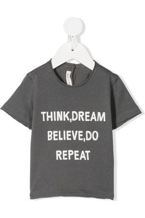 Zhoe & Tobiah Slogan-print cotton T-shirt