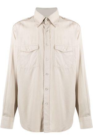 Tom Ford Garment-dyed button-down shirt