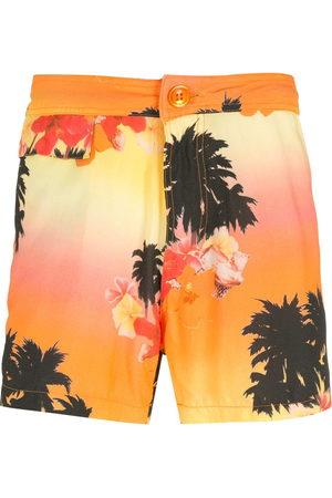AMIR SLAMA Ilha de Hibiscus shorts