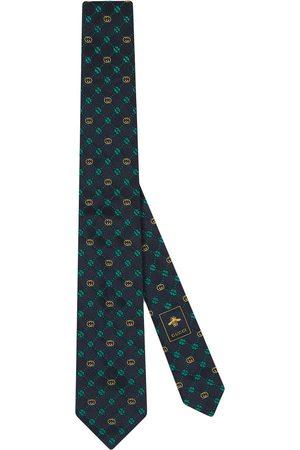 Gucci Interlocking G silk tie