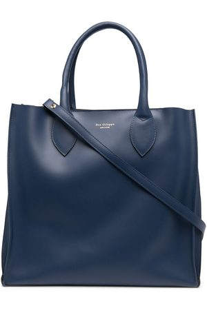DEE OCLEPPO Women Tote Bags - Engraved-logo leather tote bag