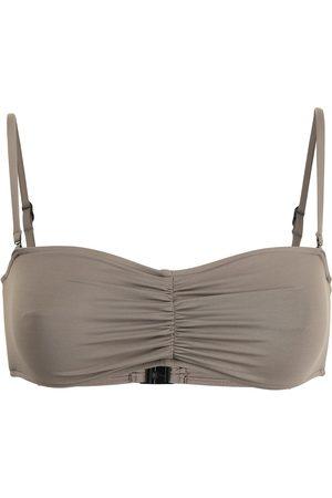 Bondi Born Women Bikinis - Thea ruched-detail bikini top