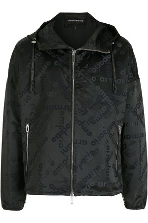 Emporio Armani Men Sports Jackets - All-over pattern jacket