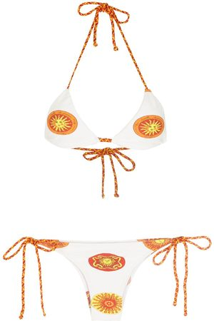 AMIR SLAMA Print Sol bikini set