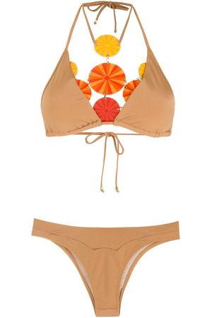 AMIR SLAMA High-leg bikini set