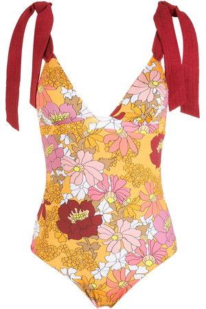 CLUBE BOSSA Contessa print swimsuit