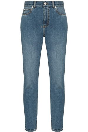 Alexander McQueen High-rise skinny-fit jeans