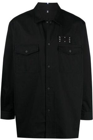 McQ Stitch-print shirt jacket