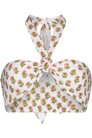 Anaak Lubina floral-print wrap top