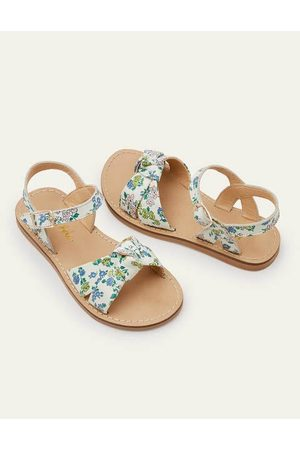 Boden Mini Leather Knot Sandals Girls Boden