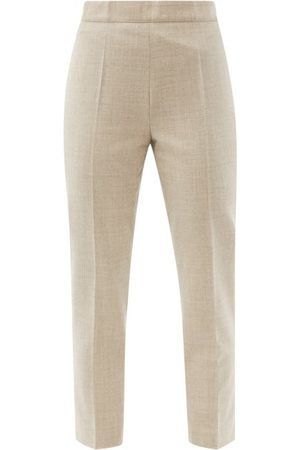 Raey Slim-leg Wool-blend Tailored Trousers - Womens