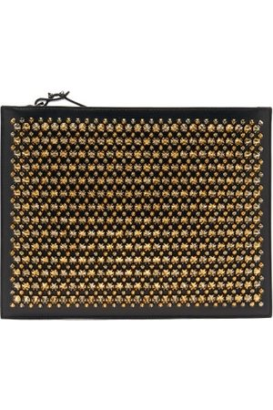 Christian Louboutin Pif Paris Studded Leather Pouch - Mens - Multi