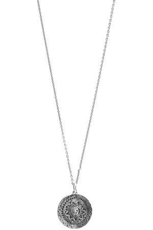 Saint Laurent Medallion Pendant Necklace