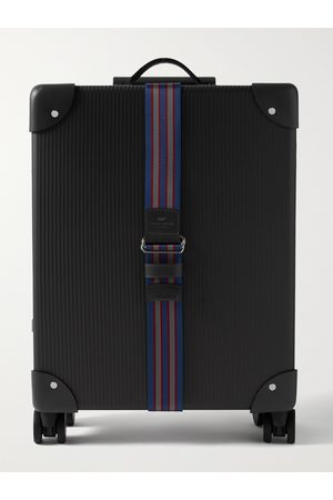 """Globetrotter Men Suitcases - No Time to Die 18 Leather-Trimmed Carbon Fibre Carry-On Suitcase"""""""