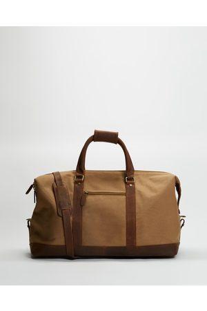 Double Oak Mills Uptown Weekender - Bags (Dirty Sand) Uptown Weekender