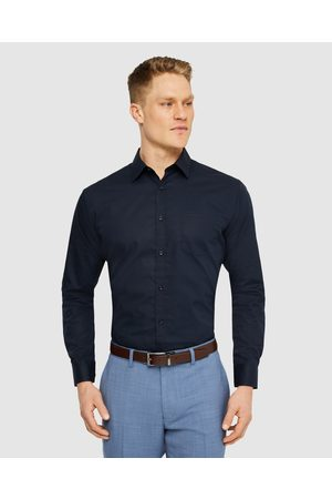 Tarocash Arthur Easy Iron Dress Shirt - Shirts & Polos (NAVY) Arthur Easy Iron Dress Shirt