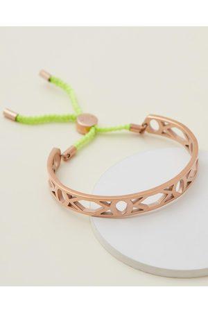 Carly Paiker Aztec String Bracelet - Jewellery (Neon & Rose ) Aztec String Bracelet