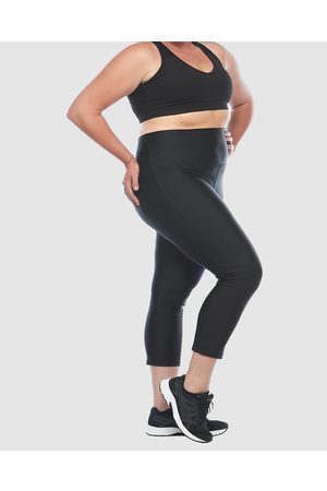Curvy Chic Sports High Waisted Active Sculpt Tights - 3/4 Tights High Waisted Active Sculpt Tights