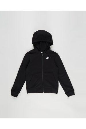 Nike Sportswear Club Full Zip Hoodie Teens - Hoodies Sportswear Club Full-Zip Hoodie - Teens