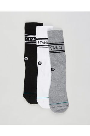 Stance Basic Crew Socks 3 Pack - Crew Socks (Multi) Basic Crew Socks 3-Pack