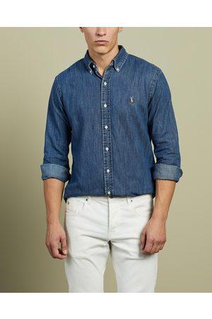 Polo Ralph Lauren Denim Sport Shirt - Casual shirts (Navy) Denim Sport Shirt