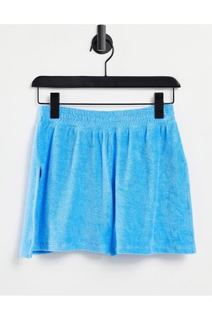 ASOS Women Sports Shorts - Hourglass running shorts in towelling with side split in