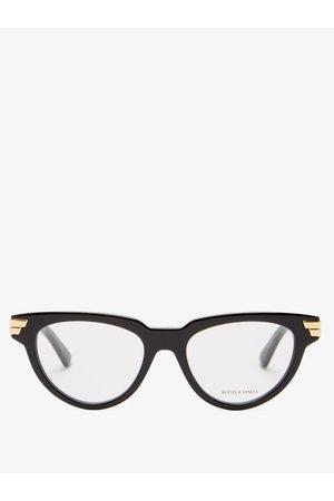 Bottega Veneta Cat-eye Acetate Glasses - Womens