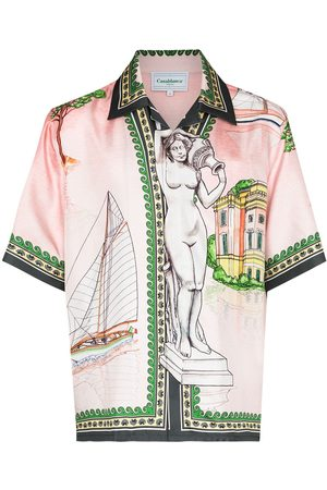 Casablanca X Browns 50 Lago de Casa shirt