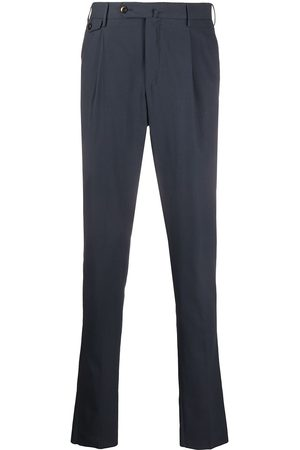 Pt01 Tapered cotton trousers