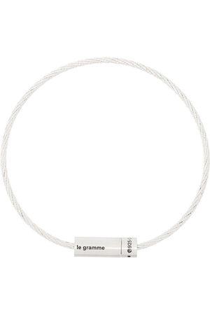 Le Gramme Le 7g brushed cable bracelet