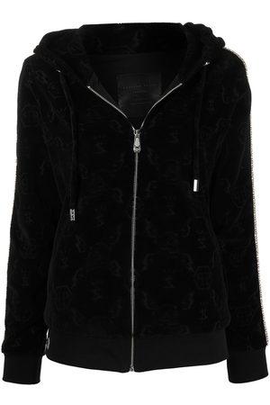 Philipp Plein Monogram zipped hoodie