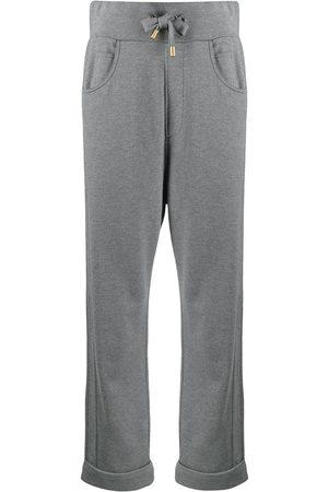 Balmain Embossed-logo track pants