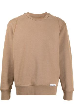 3.1 Phillip Lim Men Sweatshirts - Logo-patch detail sweatshirt
