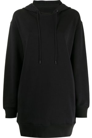 3.1 Phillip Lim Drawstring-hood sweatshirt dress