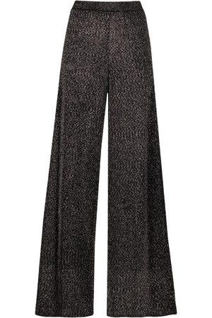 Missoni Glittered wide-leg trousers