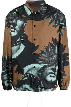 Undercover Graphic-print shirt jacket