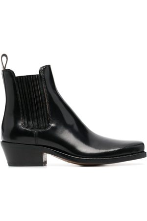 Buttero Patent leather ankle boots