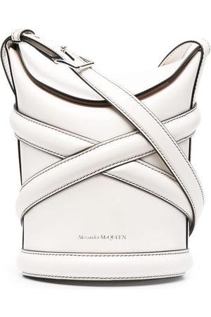 Alexander McQueen Women Shoulder Bags - The Curve bucket bag