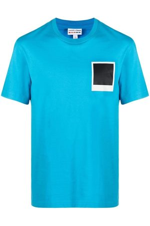 Lacoste Graphic-print cotton T-shirt