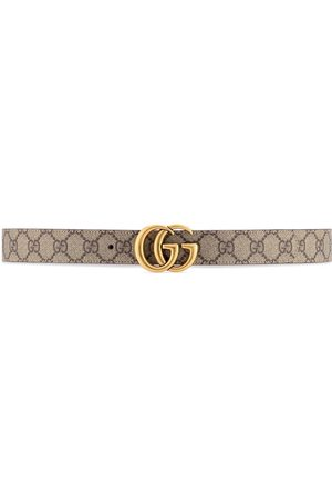 Gucci Women Belts - GG Marmont reversible belt