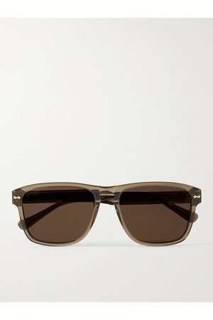 GUCCI Men Sunglasses - D-Frame Acetate Sunglasses