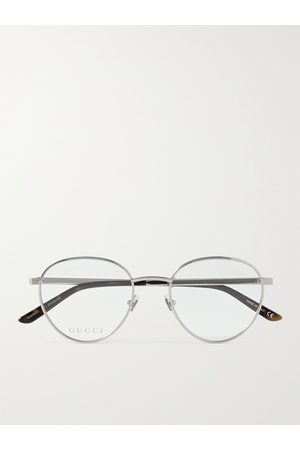 Gucci Men Sunglasses - Round-Frame -Tone Optical Glasses