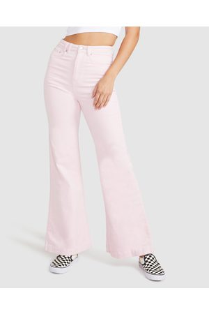 Insight Women Bootcut & Flares - Farrah Cord Flare Jeans