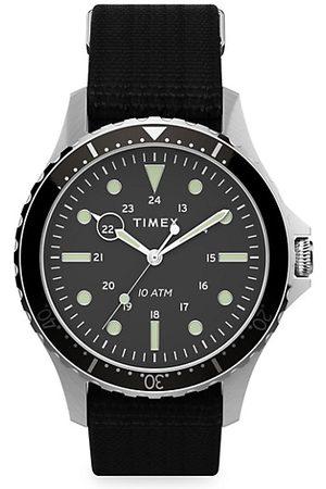Timex Men Watches - Navi XL 3-Hand Fabric Strap Watch