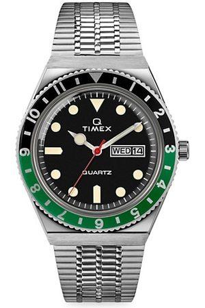 Timex Q 3-Hand Stainless Steel Bracelet Watch