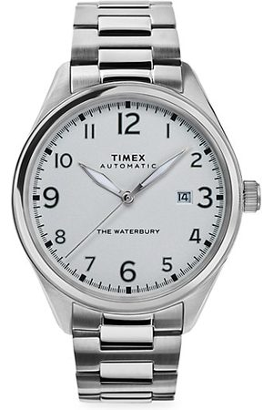 Timex Men Watches - Waterbury Traditional Automatic Stainless Steel Bracelet Watch